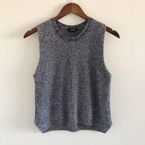 Aritzia Babaton 100% Cotton Sleeveless Knit Top S